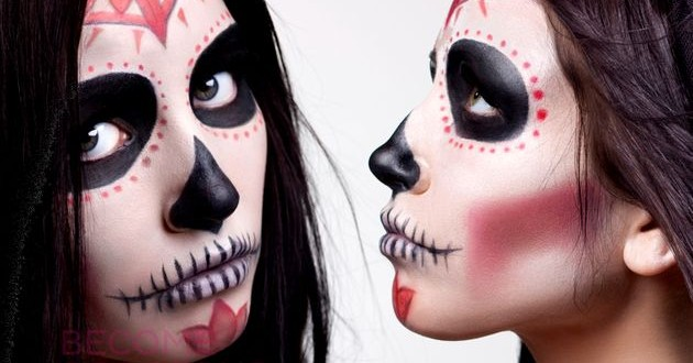 99 Creative Halloween Face Makeup Ideas Colorlens4less Net