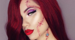 Bride of Roger Rabbit Halloween Makeup