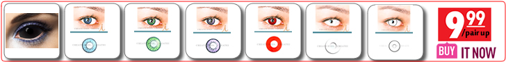 US$9.99 Halloween Colored Contacts