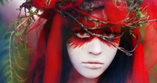 halloween-make-up-hair-hair-forest-nature-inspired