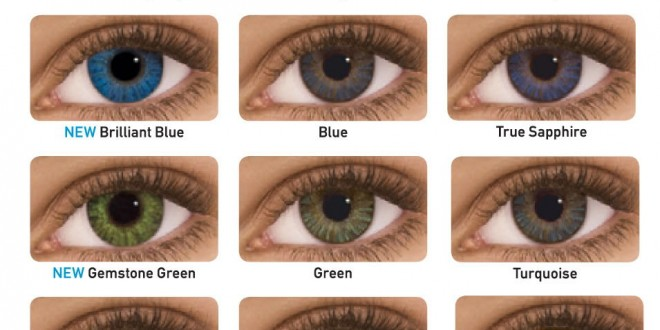 Colored Contacts for Brown Eyes