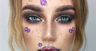Fairy Halloween Makeup Idea